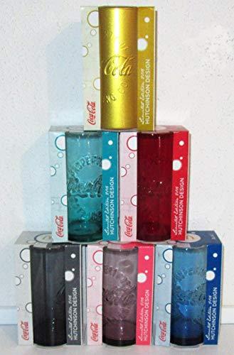 /Coca-Cola Cristal / vasos / vasos / 2016 / edición limitada / juego de 6 / Mc Donald's
