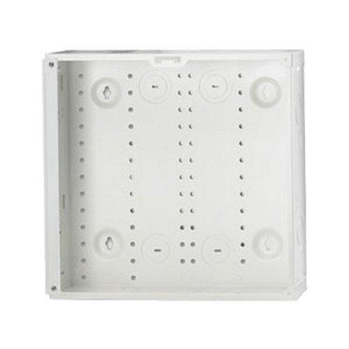 Leviton 47605-14E SMC Series, Structured Media Enclosure only, White, 14-Inch