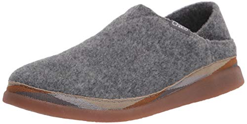 Chaco womens Revel Moccasin, Grey, 9 US
