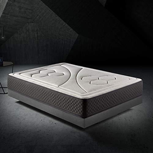HOME Colchón 150x190cm Viscoelastico Memory Vex Foam 27cm...