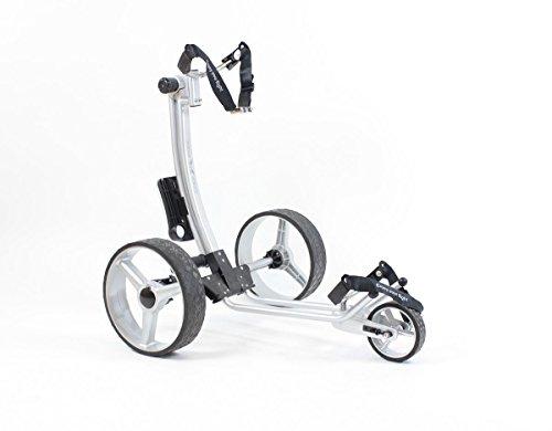 Yorrx® Slim Lion Pro 5 *PLUS* (ALU COOL) Golftrolley/Golfwagen/Golf Cart; AKTION: REGENSCHIRMHALTER GRATIS - 4
