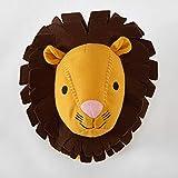 Heritage Kids Lion Stuffed Animal Wall Mount Yellow