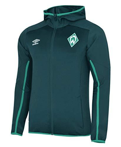 Werder Bremen Umbro Zip Hoody Sweatjacke (grün, L)