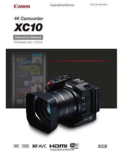 Canon XC10 Instruction Manual