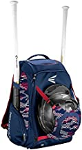 Easton Walk-Off IV Bat & Equipment Backpack Bag   Baseball Softball   2020   2 Bat Sleeves   Vented Shoe Pocket   External Helmet Holder   Zippered Side Pockets   Valuables Pocket   Fence Hook