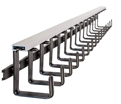 WireTray: Wire Management, Wire Organizer, Cable Manager, Cable Organizer, Cord Manager, Cord Organizer, for Under Desk, Computer, Office.