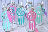 24 Dreamcatchers (5.5') and 70 Feathers (3.5') Confetti - CUSTOMIZABLE COLORS