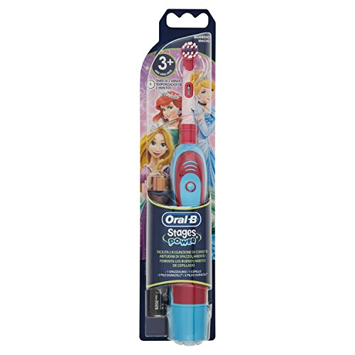 Oral-B Stages Power - 1 Spazzolino, 2 Pile duracell Modelli assortiti