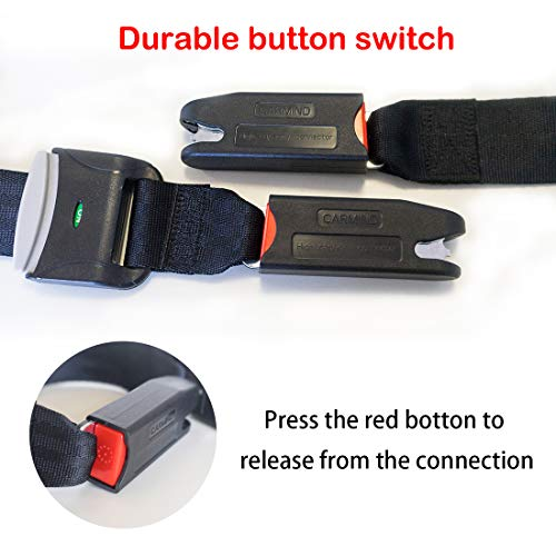 New Version General ISOFIX Belt Latch Connector Child Car Safety Seat Connector for Fixed Child Car Seats