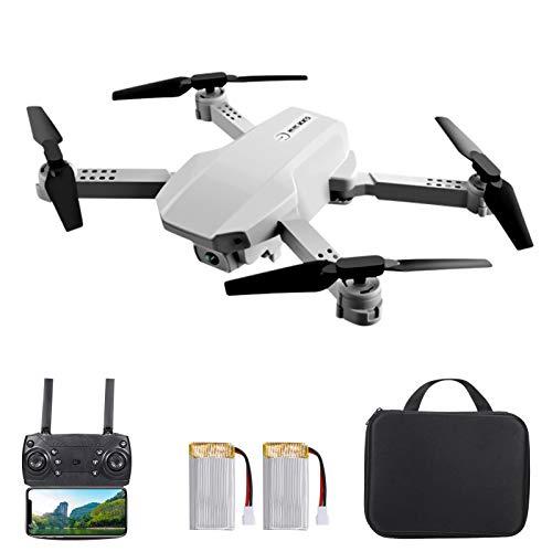 Irfora Drone RC con Telecamera, Kk5 Drone RC con Telecamera 4K WiFi FPV Doppia Telecamera Mini Quadcopter Drone