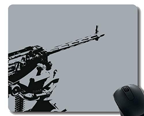 Ihr eigenes Customized Mousepad, Waffe Maschinengewehr Rubber Base Mouse Pads