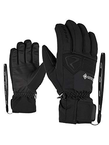Ziener Herren GREGGSON GTX Ski-handschuhe/Wintersport | Wasserdicht, Atmungsaktiv, Gore-tex, black, 8