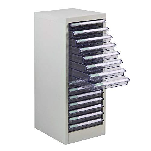 ADB Metall Schubladenschrank 15 PVC Schubladen Container SC 15 Metall Schubladenbox