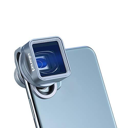 Upgrade ULANZI 1.33X Anamorphes Objektiv 17 mm mit Filteradapter + Objektivtasche für iPhone 11 Pro Max Samsung Galaxy OnePlus Filmemacher