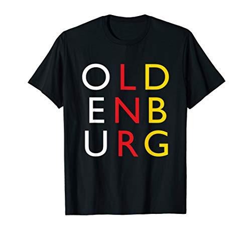 Oldenburg Shirt Retro Geschenk Deutschland Vintage Oldenburg T-Shirt