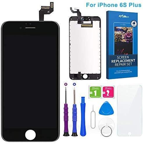 FLYLINKTECH Pantalla Táctil LCD Reemplazo para iPhone 6s Plus Negro 5.5