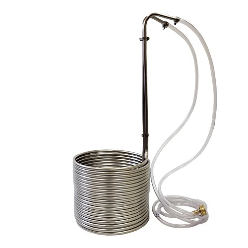Stainless Steel Wort Chiller, 3/8