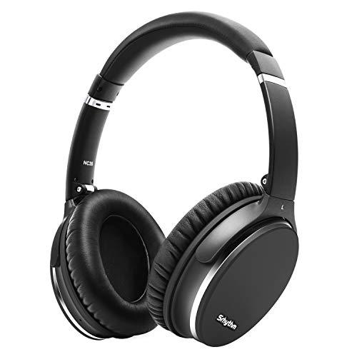 Noise Cancelling Kopfhörer, Leicht, Faltbar, Kabellos mit Bluetooth...