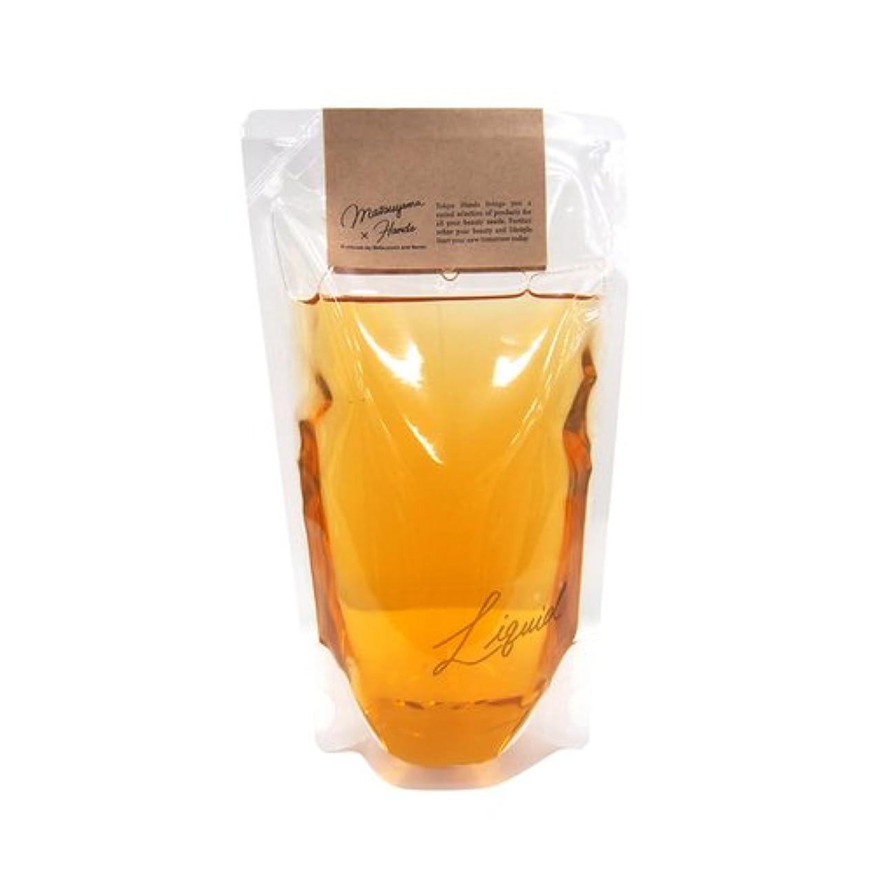 相対サイズティッシュ投げる松山油脂×東急ハンズ 東急ハンズオリジナル モイスチャーリキッドソープ カモミール替 280mL