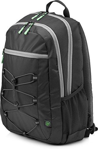 HP Active Rucksack 1LU22AA (für Laptops, Tablets, 15,6 Zoll) schwarz / grün
