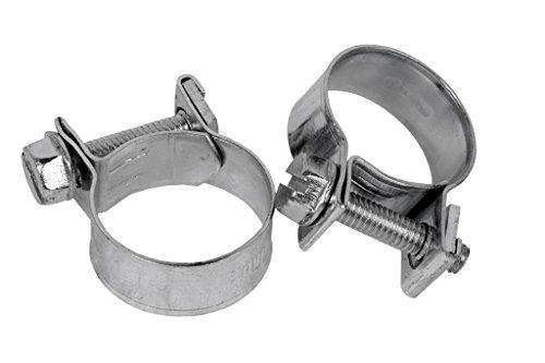 """ABRAZADERAS STANDAR MINI-CLAMP 14-16 mm (abrazaderas metálicas \""""estándar\"""")"""
