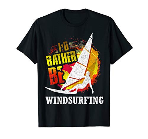 Vintage Wind Surfer Windn Windboarding Retro Windsurf T-Shirt