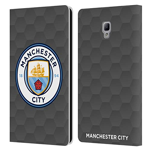 Official Manchester City Man City FC Home Goalkeeper 2020/21 Badge Kit Leather Book Wallet Case Cover Compatible For Samsung Galaxy Tab A 8.0 2017