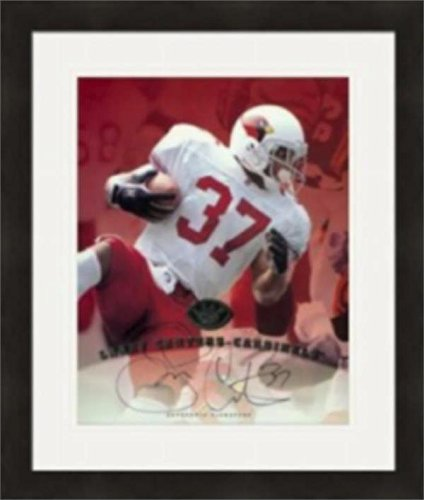 Autographed Larry Centers Picture - 8x10 Arizona Cardinals Matted & Framed - Autographed NFL Photos
