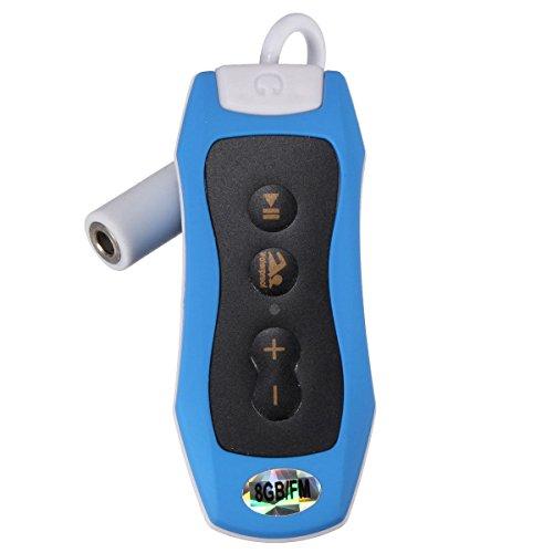 Cikuso 8GB MP3 Musica Lettore Subacqueo Nuoto Diving Spa FM...