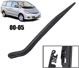 Xukey Rear Windshield Wiper Blade & Arm Set Fit For Toyota Previa Estima Tarago 2000-2005 (1 set)