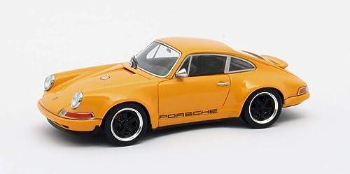 Matrix Porsche 911 Singer Design Orange 1 43
