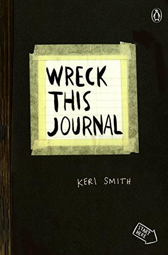 Random House WRECKBLK Wreck This Journal Expanded Edition 5.5'X8.25', Black