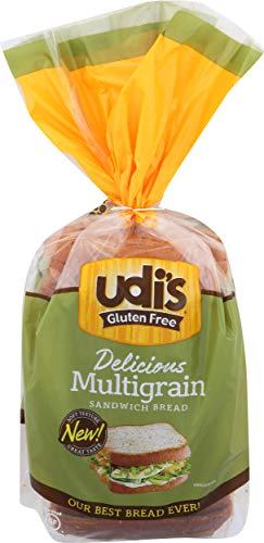 Udi's Gluten-Free Delicious Multigrain Sandwich Bread 12 Ounce
