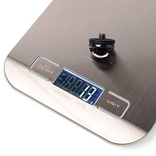 Xcellent Global Profesional Electrónica Digital de cocina/joyas equilibrio de peso bolsillo escala