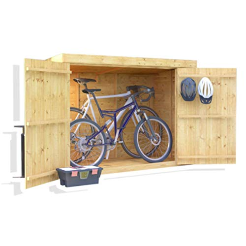 BillyOh Mini Keeper 6x3 Overlap Wooden Pent Bike...