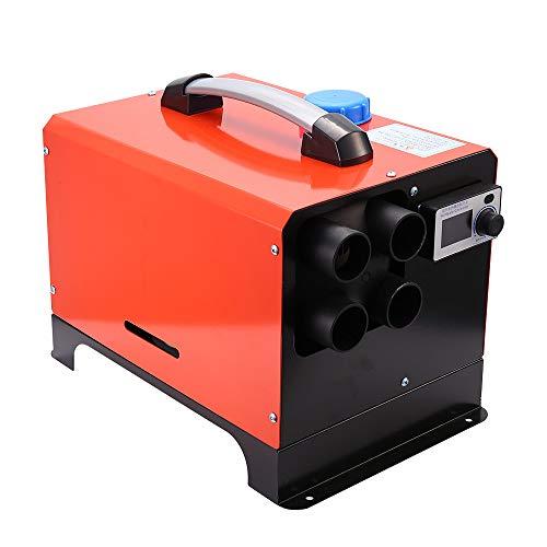 TOPQSC Calentador de estacionamiento de aire forzado con calentador de aire diesel con control remoto de 5KW 12V, todo en uno, máquina integrada para remolque de lancha