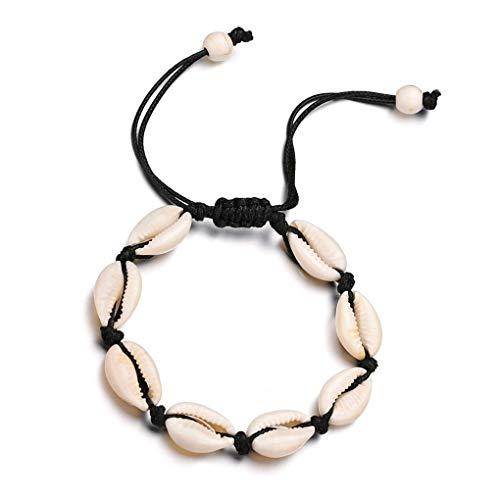 Hawai Estilo de los Hombres de Las Mujeres de Coco Diseño Pulsera Brazalete brazaletes de Coco Las Mujeres Unisex Ajuste de Pulsera de Cadena de la joyería Cuff