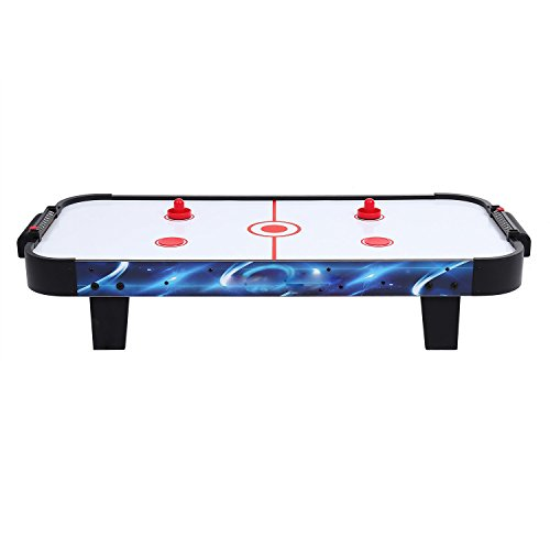 Ferty 40inch Air Hockey Electric Powered Table Top with 2 Strikers and 2 Pucks[US Stock]