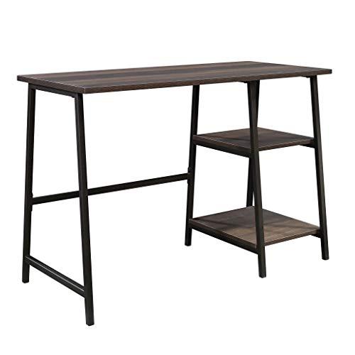 Sauder North Avenue Pedestal Desk, Smoked Oak finish