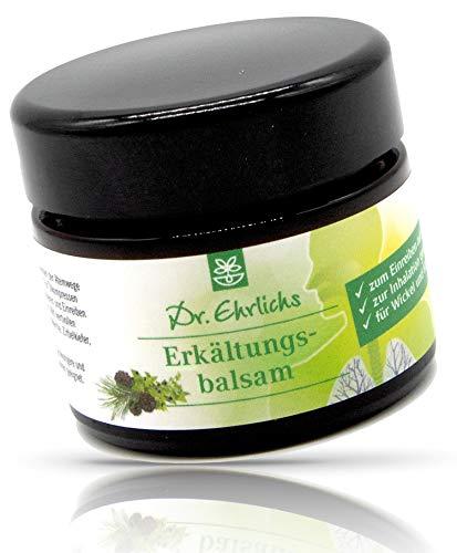 Dr. Ehrlichs Erkältungs-Balsam 50ml - Die geballte Kraft der ätherischen Öle - natürliches Balsam