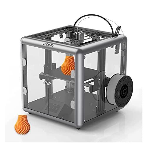 ALGWXQ Impresora 3D CREALITY Sermoon D1, Excelente Estructura de Boquilla, Sensor Inteligente, Impresión Silenciosa Tamaño de Impresión de 280 X260 X310 Mm (Color : Sermoon D1)