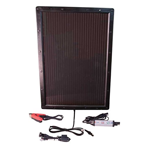 Optimate Solar + Panneau Solaire 6 W - Chargeur, Testeur et Mainteneur Solaire à Impulsions pour Batteries 12V