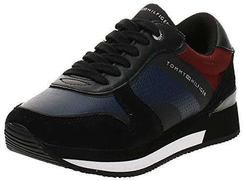 Tommy Hilfiger Active City Sneaker, Zapatillas Mujer, Negro (Black 990), 39 EU