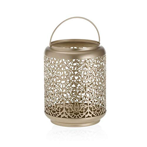 YANKEE CANDLE Champagne Pearl Kerzenhalter, Metall, Gold, 18