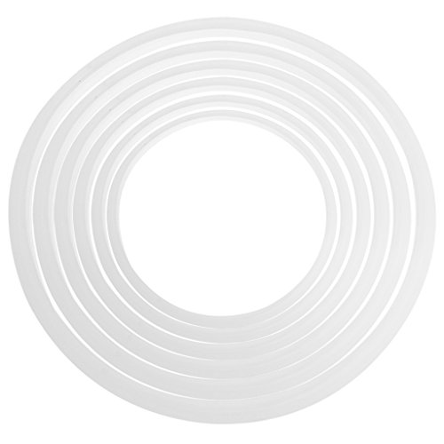 "Amrka Pressure Cookers Silicone Rubber Gasket Sealing Seal Ring Kitchen Cooking Tool (24cm/9.45"")"