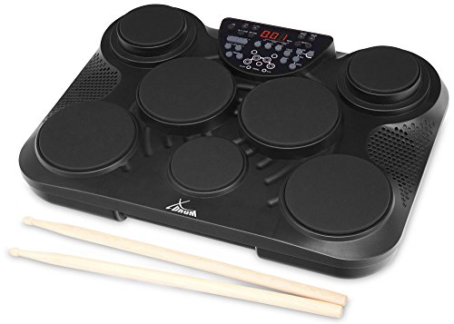 Pad de percusión XDrum DD-200DG E-Drum en color negro