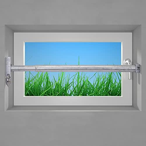 VOSS Fenstersicherung Sicherungsstange Türsicherung Einbruchschutz 1Fach 640-1000mm