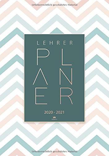 Lehrerplaner 2020 2021: A5 Kalender und Planer ab August 2020 bis Juli 2021 - Schulplaner und Lehrerkalender 2020 - 2021 - Ideal als Lehrer Geschenk