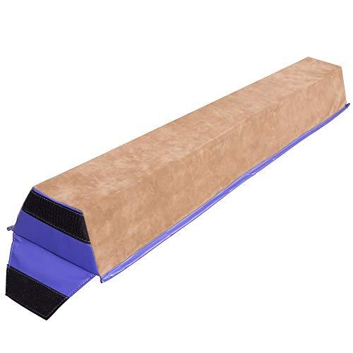 AlvisHa 4 Ft Floor Gym Balance Beam Gymnastics Skill Performance Training Sports
