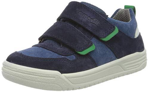 Superfit Jungen Earth Sneaker, (Blau/Grün 80), 39 EU